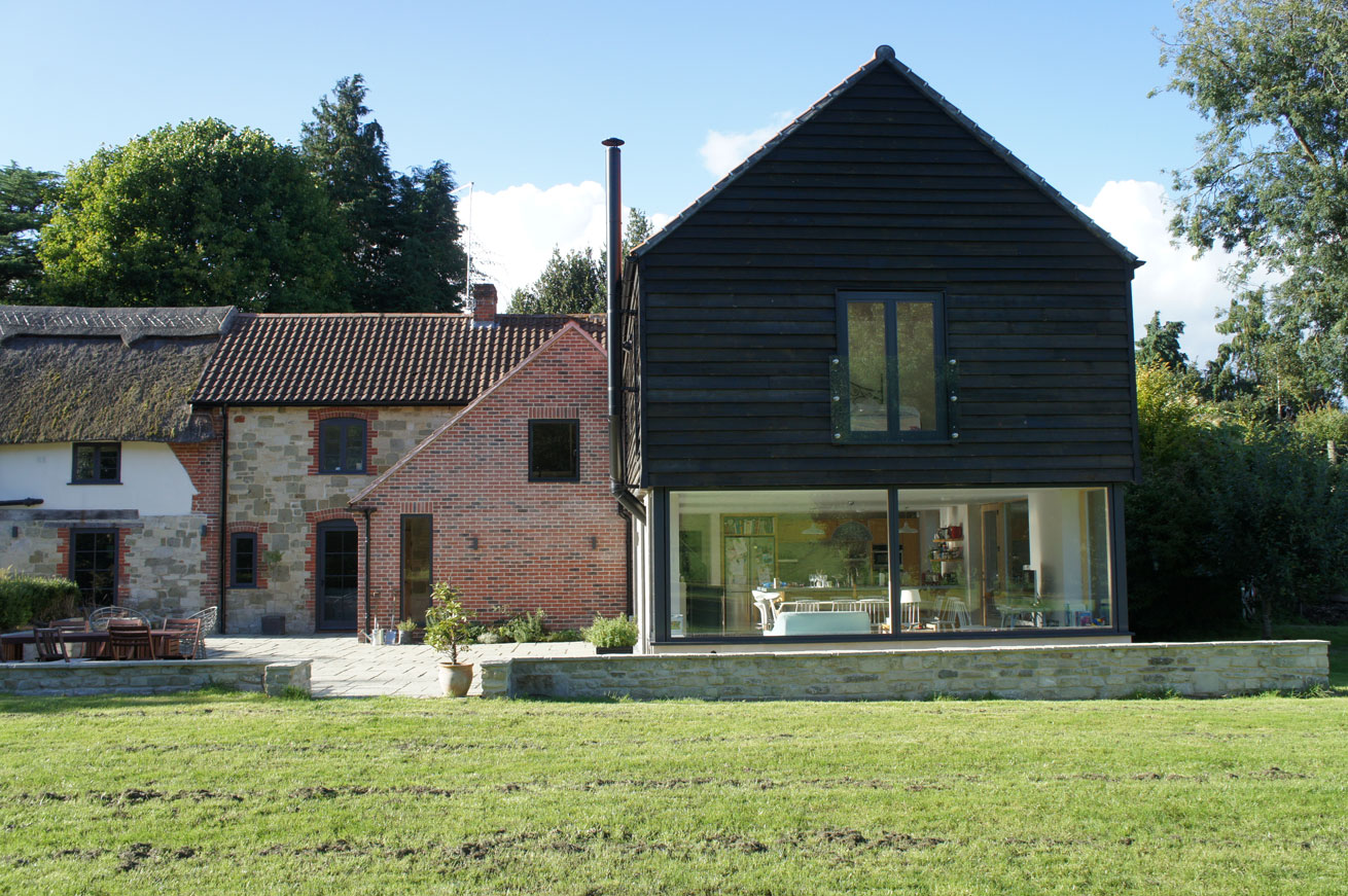 Comparelli Architect - Approach - Vernacular Extension Garden Side