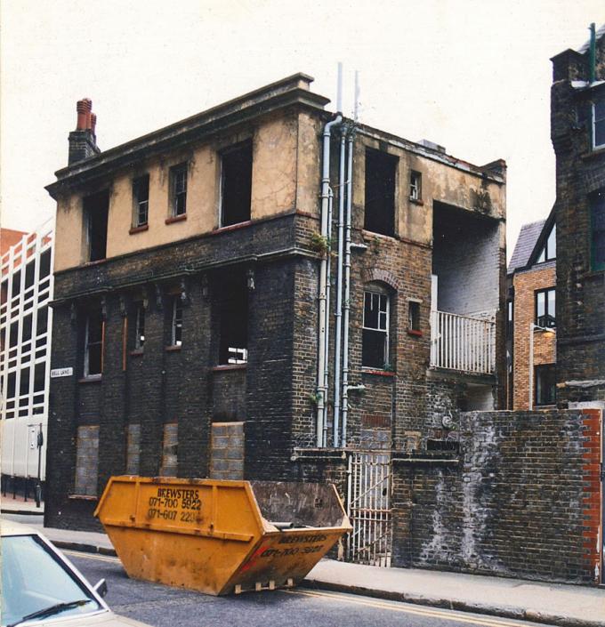 Comparelli Architect - Bell Lane Spitalfields 1