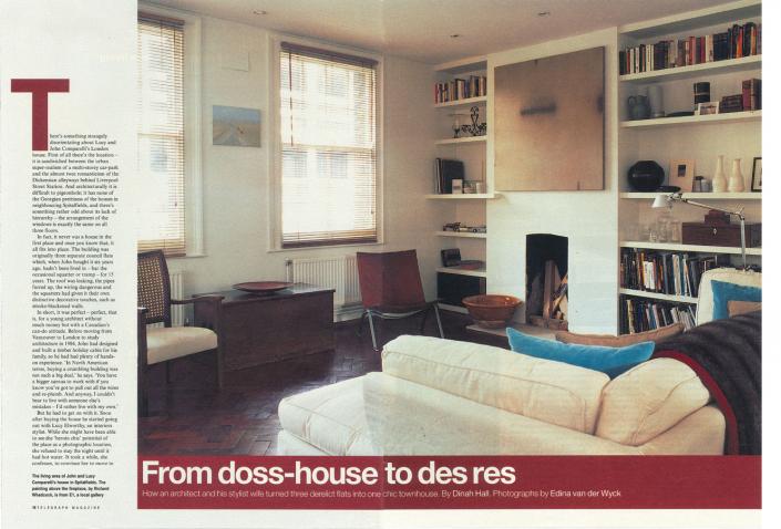 Comparelli Architect - Bell Lane Spitalfields Article 2