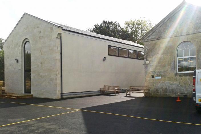 Comparelli Architect - New Hall Wardour School 1
