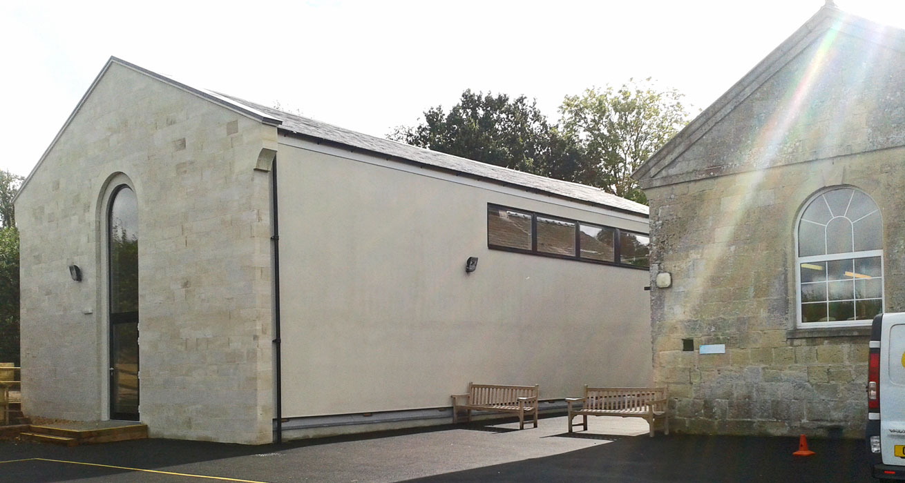 Comparelli Architect - New Hall Wardour School